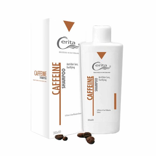 شامپو تقویت کننده و ضد ریزش سریتا مدل Caffeine